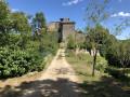 Entrée du château de Bruniquel