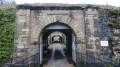 Entrée du fort du Mont Vaudois