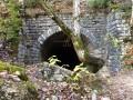 Entrée du réseau de galeries souterraines