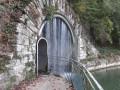 Entrée du tunnel du canal Monsieur