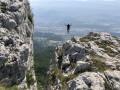 Équilibriste au-dessus de Grenoble