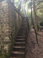 Escalier du fossé anti char