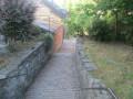 Escalier du vert de gris