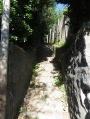 Escalier qui monte à Staufen