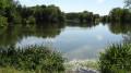 L'Étang Saint-Lubin et la vallée du Loir depuis Saint-Hilaire-la-Gravelle