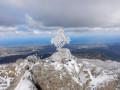 Le Mont Sant'Angelo depuis Carogne