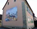 Façade peinte de maison- Luemschwiller