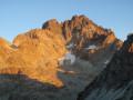 Punta Dante par Forciolline en boucle sous la Face Sud du Viso