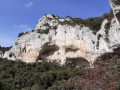 Falaise sous la Roque des Bancs