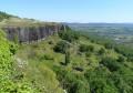 Falaises basaltiques à Mirabel