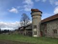 ferme à côté du château de Bach