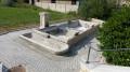 Fontaine lavoir du XIX eme siecle à Boron