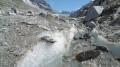 Refuge de Lognan et le glacier de l'Argentiére