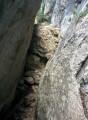 Franchissements difficiles des rochers