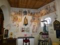 Fresques dans l'Eglise Sainte-Catherine à Forêt