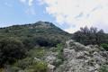 Genre de col avant la descente vers le dolmen
