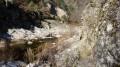 Gorges et anciens canaux sur la Daronne