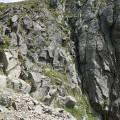 Goulet avant le sommet