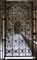 Grille en fer forgé du cloître de la cathédrale du Puy-en-Velay