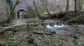Gué artificiel sur le ruisseau de la Brème