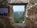 Le télégraphe et l'oppidum de la Courtine au-dessus d'Ollioules