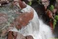 Instantané de la cascade près du pont