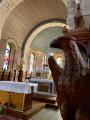 Intérieur de l'église ...