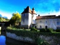 A partir du Jardin du Prieuré de Laverré