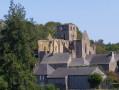 Vers l'Abbaye Notre-Dame de Hambye