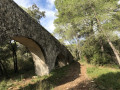Canal d'alimentation de l'aqueduc de Castries