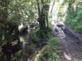 L'eau prend ses aises dans cette vallée de l'Orange