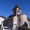 L'église du bourg de Servières-le-Château