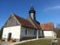 L'église Saint Gengoult départ de la balade