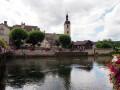 Notre-Dame du Mont et la vieille cité d'Ornans