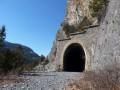 L'entrée du deuxième tunnel