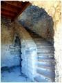 l'escalier du moulin de Javon