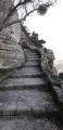 L'escalier naturel du Rocher de Saignon