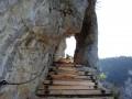 """L'""""escalier"""" récemment refait"""