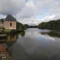 L'étang du château de Villebourgeon