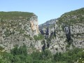 L'extrémité sud du Foz de Lumbier