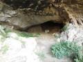 L'intérieur de la grande grotte