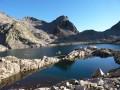 La beauté des lacs et du secteur