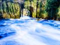La cascade de l'Aubetin