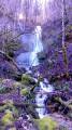 La cascade du Saut du Chevalier