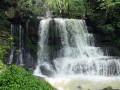 Le belvédère des Feuilles, la cascades du Verneau et le ruisseau de Vau