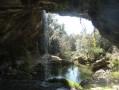 Les Tétines de Vernon et la grotte-cascade du Baumicou