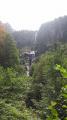 La Cascade vue du sentier