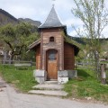 La Chapelle dans le hameau du Churut.