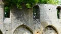 La Chapelle de Champlieu  envahie par la végétation