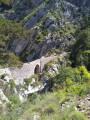 la clue du Riolan, le vieux pont sarde Sarde